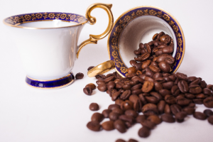 豆とコーヒー