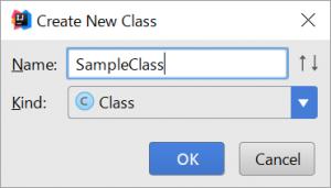 IDEA_CreateClass2