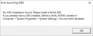 IDEA_JDK_Alart